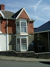5 Cwmdonkin Drive, Swansea, birthplace of Dylan Thomas