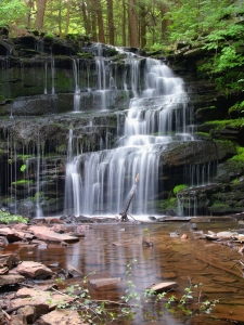 Whether a trickle or a gushing waterfall, you will find something!